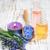 sel · de · mer · pétrolières · bouteilles · table · fleur · printemps - photo stock © es75