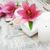 Spa · розовый · морская · соль · свечей · санаторно-курортное · лечение · массаж - Сток-фото © es75