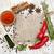 variatie · specerijen · lepels · product · foto · eenvoudige - stockfoto © es75