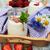 campo · flores · camomila · belo · flor - foto stock © es75