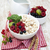 tálak · reggeli · gabonafélék · gyümölcsök · kanál · fa · asztal - stock fotó © es75