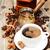 чашку · кофе · металл · кофе · природы · пить - Сток-фото © es75
