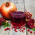 glass of pomegranate juice stock photo © es75