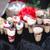 kwarktaart · chocolade · achtergrond · cake · diner · Rood - stockfoto © esatphotography