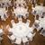 felső · kilátás · asztal · szett · felfelé · esküvők - stock fotó © esatphotography