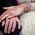 kéz · a · kézben · kezek · esküvő · szeretet · pár · háttér - stock fotó © esatphotography