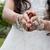 menyasszony · mutat · gyűrű · portré · nő · nők - stock fotó © esatphotography