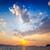 naplemente · nap · tájkép · háttér · nyár · óceán - stock fotó © esatphotography