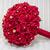 oldalnézet · piros · menyasszonyi · virágcsokor - stock fotó © esatphotography