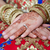 indian · mariées · main · belle · henné · tatouage - photo stock © esatphotography