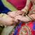 vőlegény · kéz · a · kézben · menyasszony · nő · kéz · terv - stock fotó © esatphotography