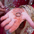 ring · hand · indian · bruid · tonen · henna - stockfoto © esatphotography
