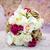 menyasszonyi · virágcsokor · nő · kéz · esküvő · boldog - stock fotó © esatphotography