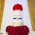 свадебный · торт · красный · цветок · любви · закрывается · белый - Сток-фото © esatphotography