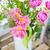 удивительный · закрывается · тюльпаны · ваза · скамейке · цветы - Сток-фото © Escander81