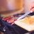 closeup of steak fresh meat preparing on grill stock photo © escander81