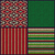 seamless knitted pattern set of christmas samples collection stock photo © essl