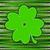 verde · afortunado · cuatro · hoja · irlandés · trébol - foto stock © essl