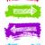 assinar · vermelho · azul · cor · branco - foto stock © essl