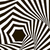 black and white optical illusion op art vector background with stock photo © essl