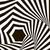 黒白 · 幾何学的な · ベクトル · 錯覚 · 現代 · 効果 - ストックフォト © essl
