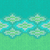スタイル · シームレス · 編まれた · パターン · 青 · 白 - ストックフォト © essl
