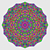 colorful circle kaleidoscope backdrop mosaic abstract flower of stock photo © essl