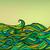 absztrakt · hullámok · minta · vektor · égbolt · tenger - stock fotó © essl