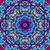 psicodélico · padrão · misto · azul · vetor · arte - foto stock © essl