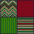 seamless knitted pattern set of christmas samples collection o stock photo © essl