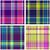 set of seamless checkered vector plaid pattern stock photo © essl