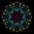symétrique · numérique · ornement · résumé · bleu · jaune - photo stock © essl