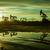 sziluett · olaj · mező · naplemente · égbolt · szép - stock fotó © evgenybashta