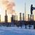 pumpa · finomító · fúrótorony · naplemente · égbolt · panoráma - stock fotó © EvgenyBashta