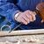 bois · ciseler · charpentier · outil · marteau · main - photo stock © ewastudio
