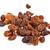 brown raisins on a white background stock photo © ewastudio
