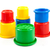 colorful toys for kids plastic cups on the white background stock photo © ewastudio
