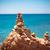 tenger · kövek · egymásra · pakolva · tengerpart · nő · férfi - stock fotó © ewastudio