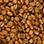 Brown coffee, background texture. roasted coffee beans. Brown co stock photo © EwaStudio