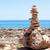 zen · taşlar · plaj · deniz · okyanus - stok fotoğraf © ewastudio