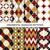 conjunto · vintage · decorativo · padrões · grunge · textura - foto stock © expressvectors