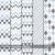 vetor · sem · costura · ziguezague · linhas · padrões · coleção - foto stock © expressvectors