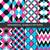 colección · sin · costura · colorido · patrones · tiras - foto stock © expressvectors