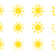 vector sun icons set stock photo © expressvectors