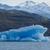 jéghegy · lebeg · tó · látványos · kék · park - stock fotó © faabi