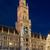 új · városháza · München · éjszaka · Németország · egy - stock fotó © faabi