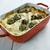 lasanha · vegetariano · torrado · pinho · nozes - foto stock © fanfo