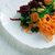 raiz · de · beterraba · salada · nozes · fundo · jantar · vermelho - foto stock © fanfo
