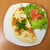szynka · pomidorów · zielone · Sałatka · żywności · jaj - zdjęcia stock © fanfo