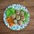 finom · török · házi · húsgombócok · paradicsomszósz · étel - stock fotó © fanfo
